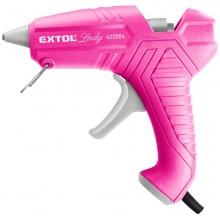 EXTOL LADY pistole tavná lepící, 11mm, 40W, růžová 422004