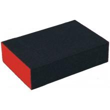EXTOL PREMIUM brusná houba, 100x70x25mm, P80, čtyřstranná, abrazivo-korund 8803663