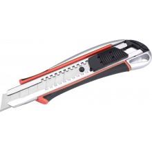EXTOL PREMIUM Nůž ulamovací kovový s výstuhou, 18mm Auto-lock 8855024