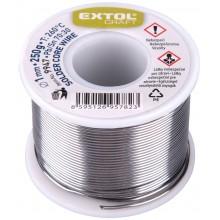 EXTOL CRAFT cín pájecí Ø 1mm, 250g 9947
