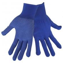 """EXTOL CRAFT rukavice z polyesteru s PVC terčíky na dlani, velikost 8"""" 99713"""