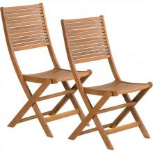 FIELDMANN FDZN 4012 Skládací zahradní židle, 2 ks 50001892