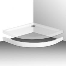 Roltechnik Panel k vaničce FLAT ROUND 900, bílý 8010083