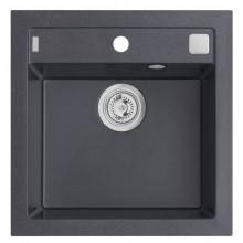 ALVEUS FORMIC 20 kuchyňský dřez granitový, 520 x 510 mm, černá 4402091