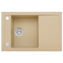 ALVEUS FORMIC 30 kuchyňský dřez granitový, 760 x 500 mm, béžová 4403055