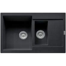Franke Maris MRG 651-78, 780x500 mm, fragranitový dřez, onyx 114.0285.329