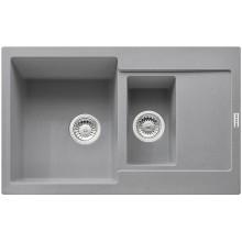 Franke Maris MRG 651-78, 780x500 mm, fragranitový dřez, šedý kámen 114.0285.340