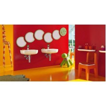 LAUFEN FLORAKIDS Umývátko pro děti 45x41 cm, s otvorem pro baterie, bílé