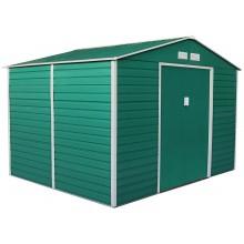 G21 Zahradní domek GAH 529 - 277 x 191 cm, zelený 63900537