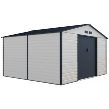 G21 Zahradní domek GAH 1085 - 340 x 319 cm, béžovo šedý 6390067