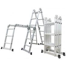 G21 Hliníkové štafle GA-SZ-4x4-4,6M, multifunkční 6390462