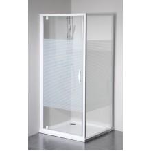 GELCO Eterno sprchová boční stěna 80, sklo STRIP GE3380