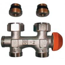 HERZ TS-3000 šroubení s termostatickým ventilem M 28 x 1,5 přímé 1369291