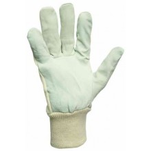 HOBBY - rukavice kombinované ovčina v dlani vel. 10