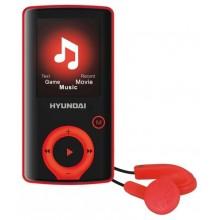 HYUNDAI MPC 883 FM MP3/MP4 Přehrávač 8 GB, červený
