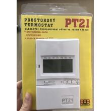 VÝPRODEJ ELEKTROBOCK PT21 Prostorový digitální termostat POŠKOZEN OBAL, FUNKČNÍ!!!!
