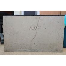 VÝPRODEJ ACO EuroSelf 0,5 m žlab včetně kalového koše s plastovým roštem 416327 POŠKOZENO