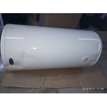 VÝPRODEJ Boiler Leov 100L pro ohřev vody s objemem 100 litrů, svislý PROMÁČKLÝ VIZ FOTOGRAFIE, POŠKOZENÝ OBAL