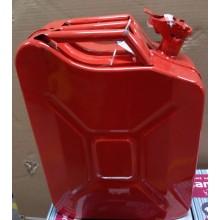 VÝPRODEJ EXTOL PREMIUM kanystr ocelový na benzín, 20l 8863200 PROMAČKLÝ, ODŘENÝ!!!!