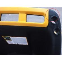 VÝPRODEJ KETER SUPER PRO 150L vozík, černá 17182830 PRASKLÁ RUKOJEŤ!!!!