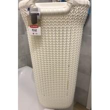 VÝPRODEJ CURVER KNIT 57L Koš na špinavé prádlo 45x61x34cm krémový 03676-X64 PRASKLINA