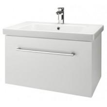 Dřevojas INN 75 spodní koupelnová skříňka s umyvadlem Norm 75 BÍLÁ vysoký lesk 23587d