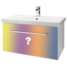 Dřevojas INN 90 spodní koupelnová skříňka s umyvadlem Norm 90 INDIVIDUAL 23617d