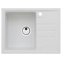 ALVEUS INTERMEZZO 30 granitový dřez, 620 x 480 mm, bílý 1303011