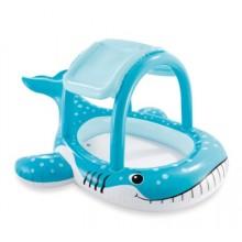 INTEX WHALE SHADE Dětský bazén se stříškou velryba, 57125NP