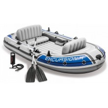 INTEX Excursion 4 set nafukovací člun, 315 x 165 x 43 cm 68324NP