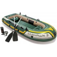 INTEX Seahawk 3 Set Nafukovací člun 68380NP