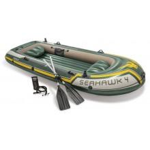 INTEX Seahawk 4 Set Nafukovací člun 351x145 x 48 cm 68351