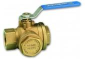 """IVAR Kulový uzávěr voda s filtrem, FILTR BALL 5/4"""" IVAR.51F 3903210000"""