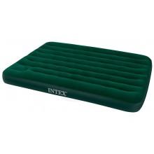 INTEX DOWNY AIRBED FULL Nafukovací postel s pumpou 137 x 191 cm 66928
