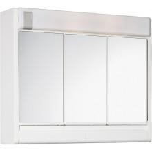 JOKEY RUBÍN Zrcadlová skříňka se žárovkou 2 x 40 W - bílá