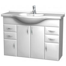 Intedoor Klasik spodní koupelnová skříňka závěsná s umyv. dřevodekor 84 K105Z/84