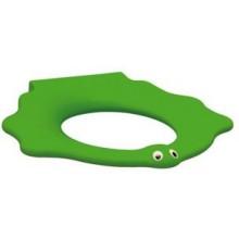 KERAMAG dětský sedací kruh KIND zelené (RAL 6018) bez poklopu 573371000