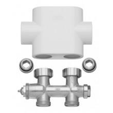Kermi ventilový blok, přímý, kryt bílý ZV00400001