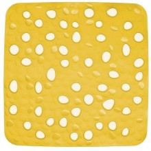KELA Podložka do sprchy protiskluzová Nevada žlutá KL-22160