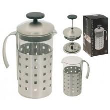 KAISERHOFF Konvička na čaj a kávu nerez French Press 1 l KO-170280400