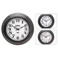 KAISERHOFFNástěnné hodiny kovové 43cm KO-197158