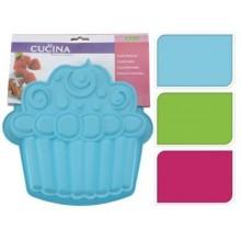 KAISERHOFF Forma na dort ve tvaru muffinu, modrá KO-641500970modr