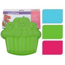KAISERHOFF Forma na dort ve tvaru muffinu, zelená KO-641500970zele