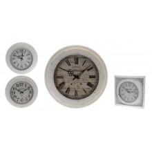 KAISERHOFFNastěnné hodiny kovové 43x5cm KO-905491