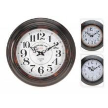 KAISERHOFFNastěnné hodiny kovové 43cm KO-922599