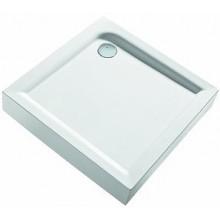 KOLO First čtvercová sprchová vanička 90 x 90 cm s integrovaným panelem XBK1690000