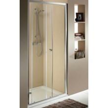 KOLO First posuvné dveře 2-dílné 120 cm, do niky nebo pro kombinaci s pevnou boční stěnou, čiré ZDDS12222003