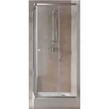 KOLO First čtvercový sprchový kout 80 x 80 cm, posuvné dveře, čiré sklo ZKDK80222003