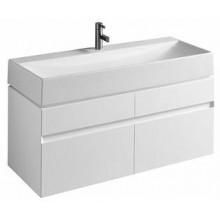 KOLO Quattro skříňka pod umyvadlo 120 cm, závěsná, lesklá bílá 89355