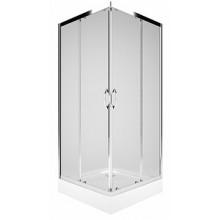 KOLO Rekord čtvercový sprchový kout 90 x 90 cm, posuvné dveře, čiré sklo PKDK90222003